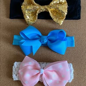 Other - set of 3 big bows!!'